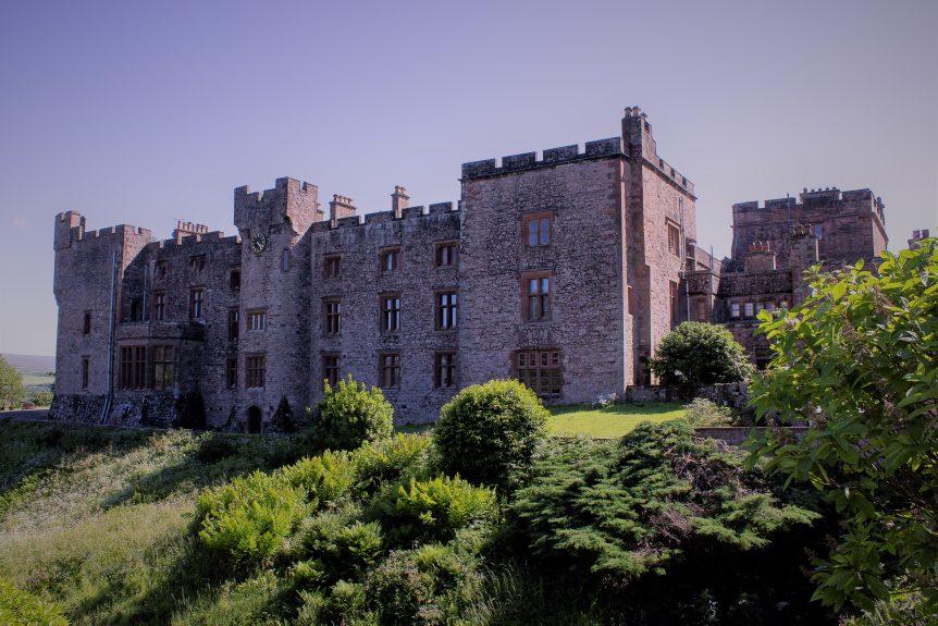 Muncaster castle Cumbria june 2020